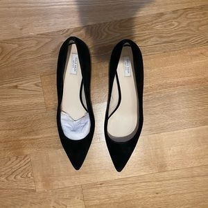 Cole Haan kitten heels, black, never worn